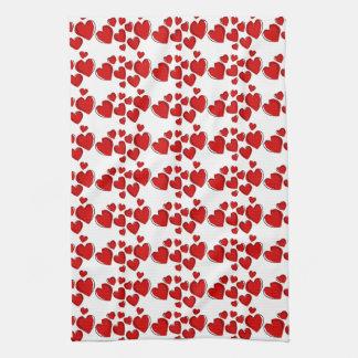 Happy Hearts Kitchen Towel