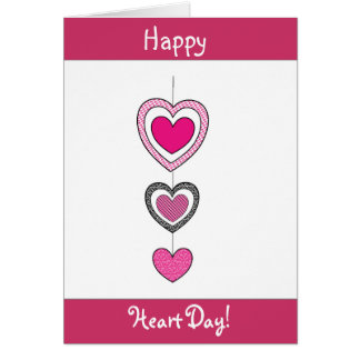 Happy Hearts Valentine's Day Card