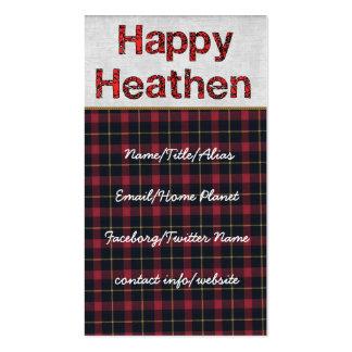 Happy Heathen Business Card Templates