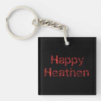 Happy Heathen Key Ring