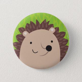 Happy Hedgehog - Woodland Friends 6 Cm Round Badge