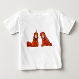 Happy Hens Chicken ' HARRIET & HUMBUG ' Baby/Kids Baby T-Shirt
