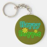Happy Hippie Key Chains