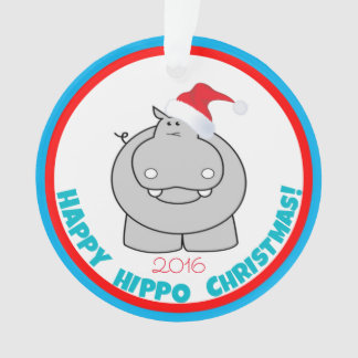 Happy Hippo Christmas: Adorable Holiday Keepsake Ornament