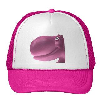 Happy Hippo Pink Cap