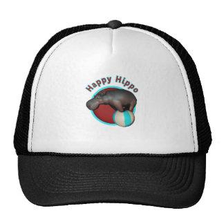 Happy Hippo Tumbler Hat