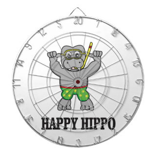 happy hippo water dartboards