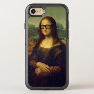 Happy Hipster Mona Lisa - Leonardo da Vinci OtterBox Symmetry iPhone 8/7 Case