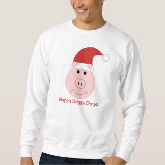 Happy Hoggy Days Holiday sweatshirt