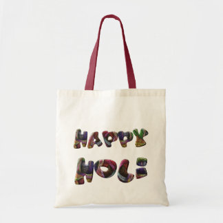 Happy Holi Hindu Spring Festival of Colors Art Tote Bag