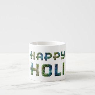 Happy Holi Hindu Spring Festival of Colors Espresso Cup