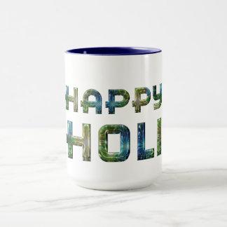 Happy Holi Hindu Spring Festival of Colors Mug