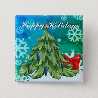 Happy Holiday 2017 Button
