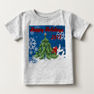 Happy Holiday 2017 Tee