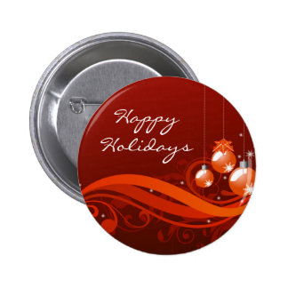 Happy Holiday Button
