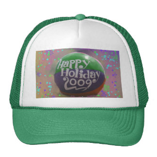 happy holiday cap