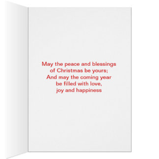 Happy Holiday Chirstmas with single tree Card