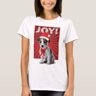 Happy Holiday Dog - Jack Russell T-Shirt