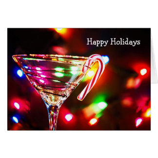Happy Holiday Drink Card