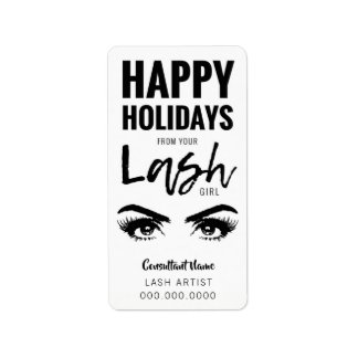 Happy Holiday from Your LASH GIRL Label