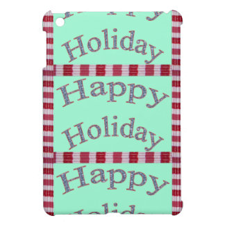 Happy Holiday Images Fash Cover For The iPad Mini