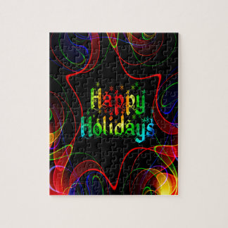 happy holiday jigsaw puzzle