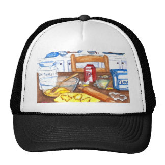 Happy Holiday Kitchen Home Cooking Baking Hat