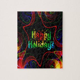 happy holiday puzzles
