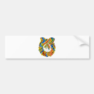 Happy Holiday : Wreath Collection Bumper Sticker
