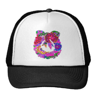 Happy Holiday : Wreath Collection Mesh Hat