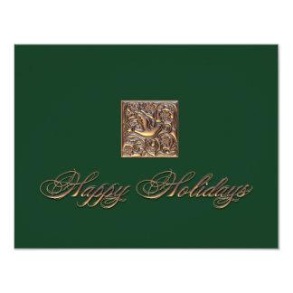 Happy Holidays 11 Cm X 14 Cm Invitation Card