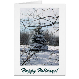 Happy Holidays 1 Card