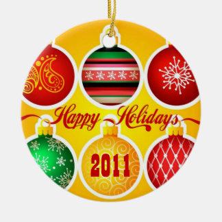 Happy Holidays 2011 Ornament