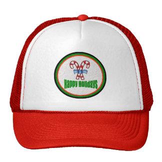 Happy Holidays 2 Hat