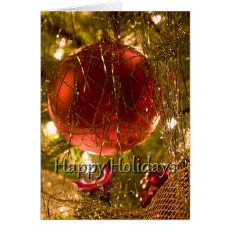 Happy Holidays 3 Card