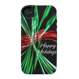Happy Holidays 4 Case-Mate Case Vibe iPhone 4 Case