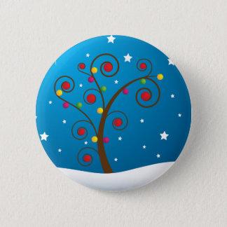 Happy Holidays 6 Cm Round Badge
