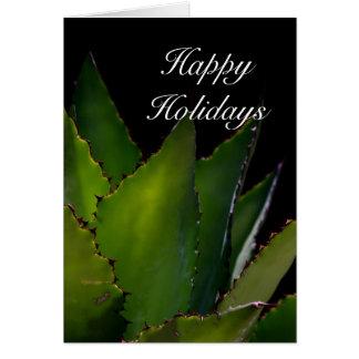 Happy Holidays , Agave Card