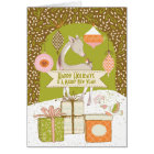 Happy Holidays and a Merry New Year | Personalised Card