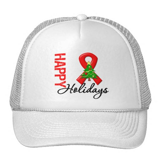 Happy Holidays Blood Cancer Awareness Hat