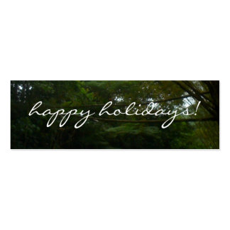 Happy Holidays Pack Of Skinny Business Cards