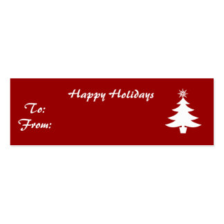 Happy Holidays Business Card Templates