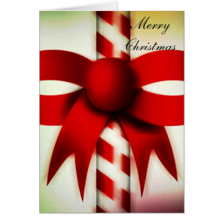 Happy Holidays Candy Cane Greeting Cards
