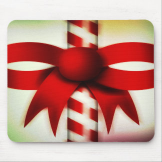 Happy Holidays Candy Cane Mousepads
