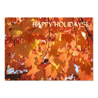 """HAPPY HOLIDAYS! CARDS Events Parties Announcements 5"""" X 7"""" Invitation Card"""