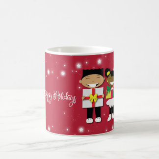 Happy Holidays Christmas Coffee Cup