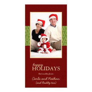 Happy Holidays Christmas Family Photo Cards
