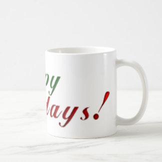 Happy Holidays Coffee Mug