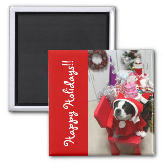 Happy Holidays! Cologalita. Square Magnet