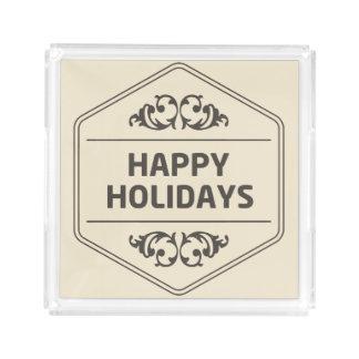 Happy Holidays Custom Background